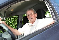mayor al volante